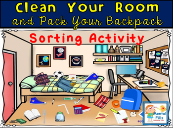 Organizing & Planning Activity for ADHD: Clean Your Room &