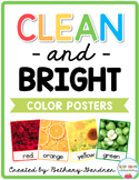 Clean and Bright Color Posters