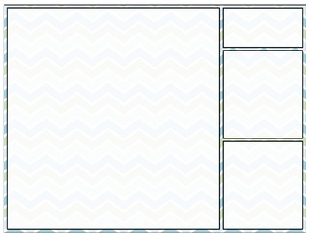 Clean and Simple Chevron Powerpoint Template