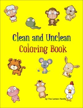 Clean and Unclean: A Messianic Coloring Book