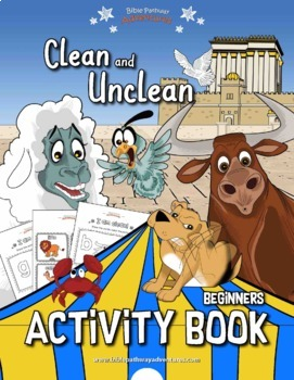 Clean and Unclean Coloring Activity Book
