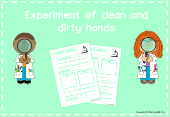 Clean and dirty hands experiment