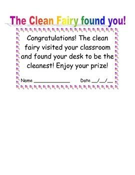 Clean fairy