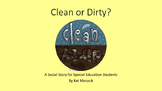 Clean or Dirty Clothes Social Story (Autism, Special Education)