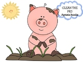 Clean the Pig Preschool Apraxia Bundle