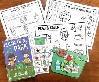 Clean up the Park:  An Interactive & Adaptive Book
