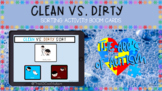 Clean vs. Dirty Sorting Activity- Boom Cards- Personal Hygiene