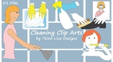 Cleaning Clip Arts