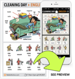 Cleaning Day > PDF + Interactive Lesson