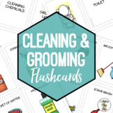 Cleaning & Grooming Flashcards & Sorting Activity