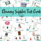 Cleaning Life Skills BUNDLE - Adapted Books, Task Cards, Flash Cards, Visuals