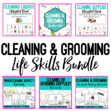 Cleaning & Grooming Life Skills BUNDLE - Adapted Books, Ta