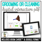 Cleaning OR Grooming Supplies? Digital Interactive Activity