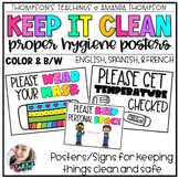 Cleaning Posters | Proper Hygiene