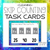 Cleaning Skip Counting Task Cards