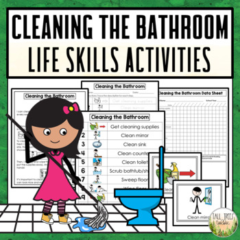 Cleaning the Bathroom Life Skills Activities