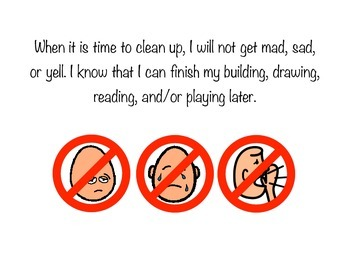 Cleaning Up: A Social Story