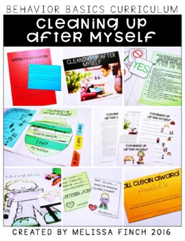 Cleaning Up After Myself- Behavior Basics Program for Special Education