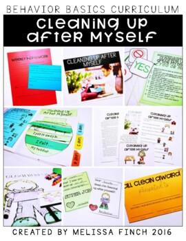 Cleaning Up After Myself- Behavior Basics Program for Spec