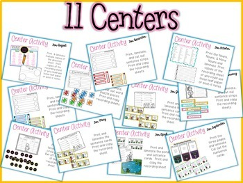Cleaning Up Writing (Monthly Editing Activities & Centers)