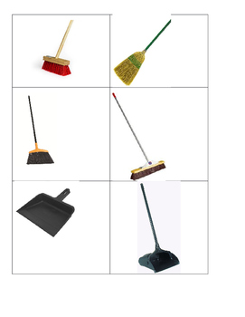 Cleaning Vocational Words