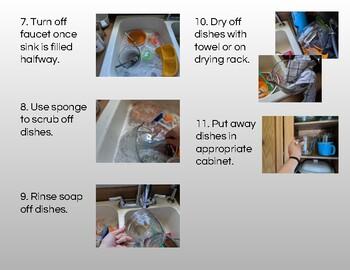 Life Skills: Washing dishes