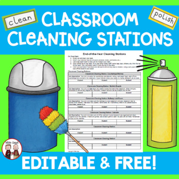 End of Year Cleaning Jobs for Students