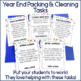 End of the Year Classroom Packing Task Cards