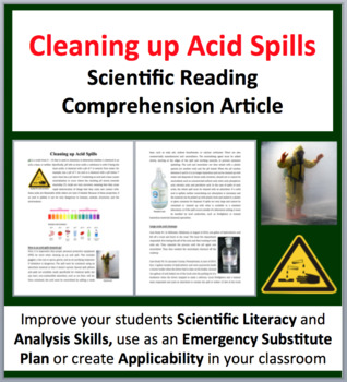Cleaning up Acid Spills - Science Reading Article