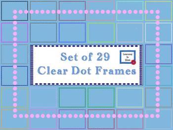 Clear Dot Frames by LiB