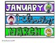 Clear Drawer Month Labels