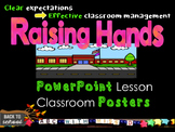 Clear Expectations for Effective Classroom Management- Raising Hands