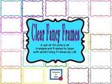 Clear Fancy Frames by LiB