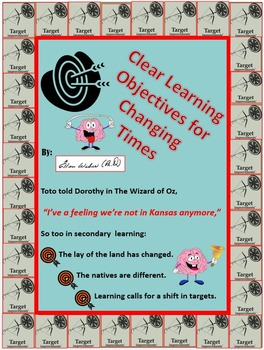 Clear Learning Objectives for Changing Times
