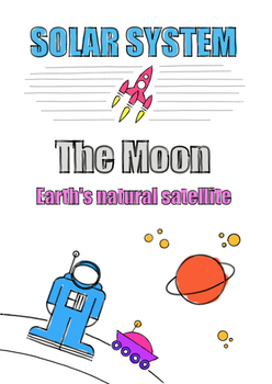 Clear and Colorful Space Posters ( Solar System ) A4