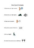 Clear speech strategies