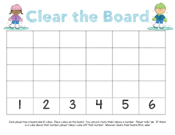 Clear the Board Set