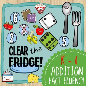 Clear the Fridge -- an Addition Fact Fluency Game