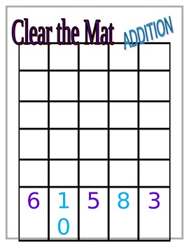Clear the Mat Addition