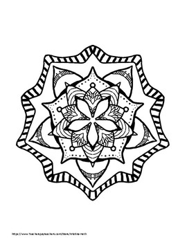 Clearly Coloring: Patterns and Mandalas--an all ages coloring book
