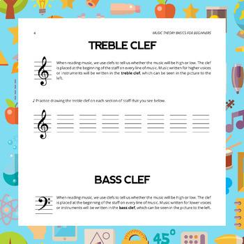 Clef Worksheet