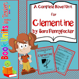 Clementine Book by Sara Pennypacker Book Unit