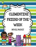 Clementine Friend of the Week Novel Study