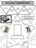 Clementine Hunter Artist Foldable Sample