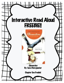Clementine Interactive Read Aloud FREEBIE!