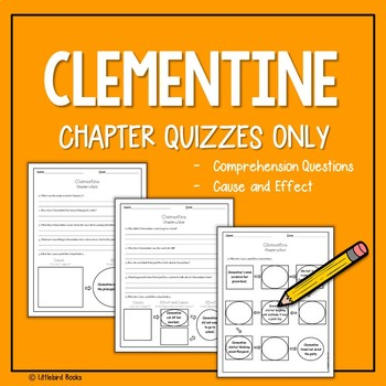 Clementine Mini Novel Study with Answer Key