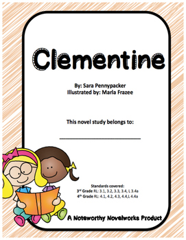 Clementine Novel Study / Guide