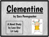 Clementine: Novel Study Response Book