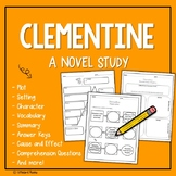 Clementine Novel Study with Answer Key