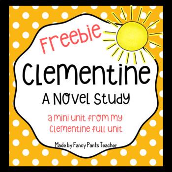Clementine  Mini Novel Unit